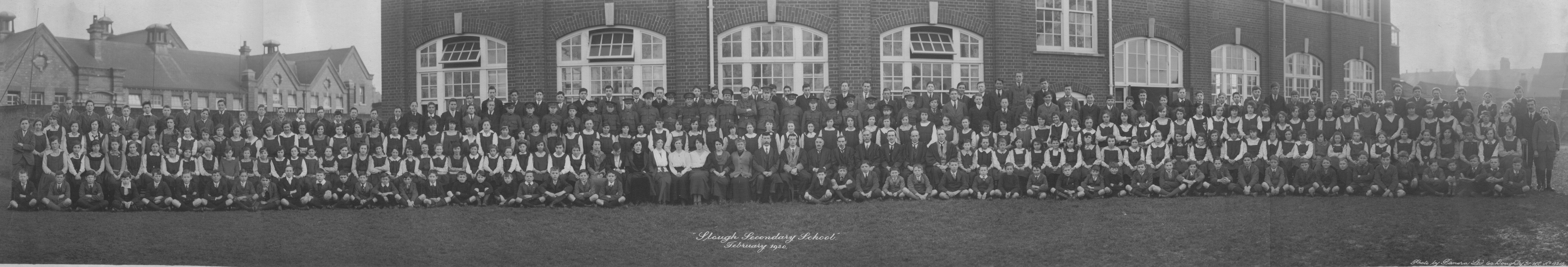 Slough Secondary School. 1920