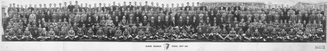 Slough Grammar School 1936