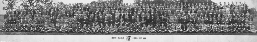 Slough Grammar School 1938