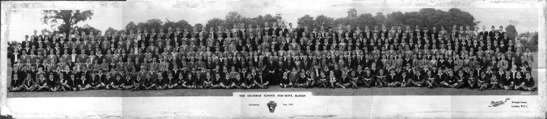 Slough Grammar School 1953