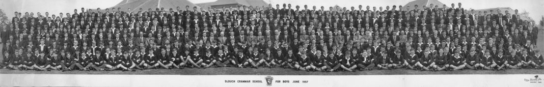 Slough Grammar School 1957