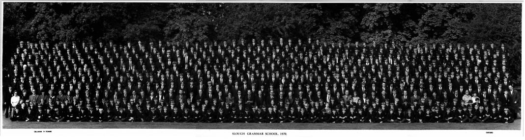Slough Grammar School 1970