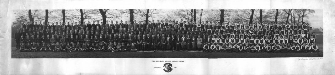 Slough Secondary School 1921