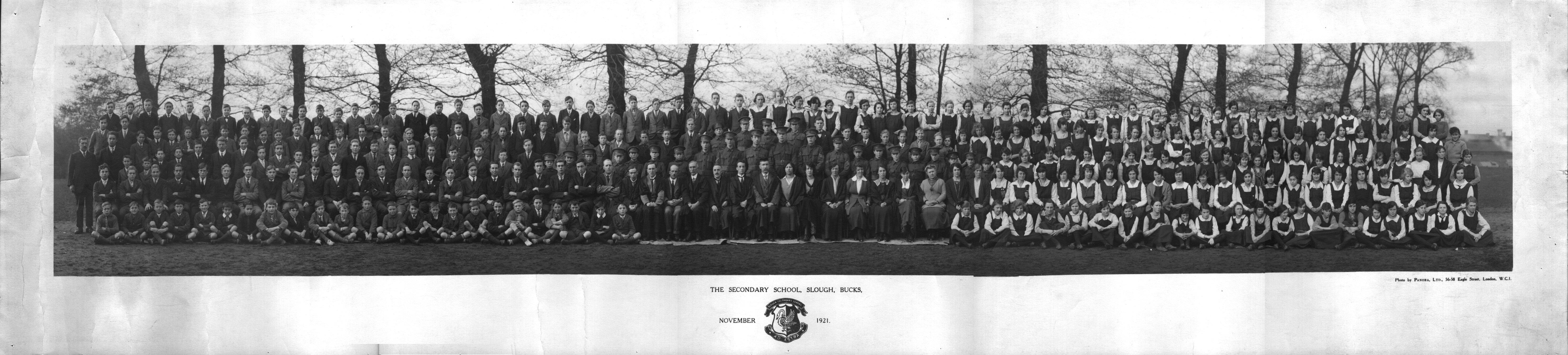 Slough Secondary School 1921