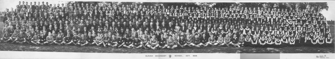 Slough Secondary School. 1934