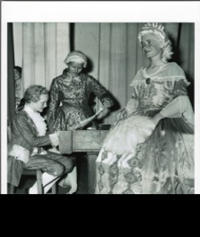Production of The Boy Mozart by Slough High School Choral Society in July 1955