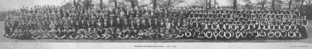 Slough Secondary School. 1929
